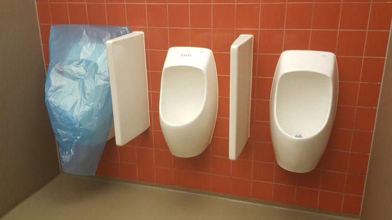 watervrij urinoir verstop waterloos